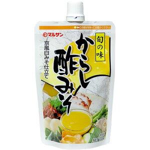 マルサン 旬の味 からし酢みそ 京風白みそ仕立て 120g 1個