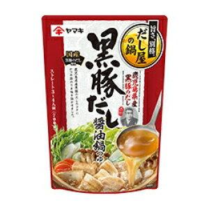 ヤマキ 黒豚だし醤油鍋つゆ 700g 1袋 238円【 秋冬 鍋つゆの素 ストレートタイプ 】