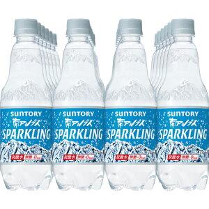サントリー 南アルプスの天然水 スパークリング 500ml PET 24本 【water】