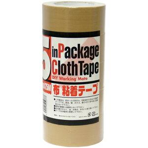 布粘着テープ 5巻パック 883円 【布ガムテープ】