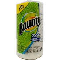 Bountyペーパータオル54シートガーデンプリント