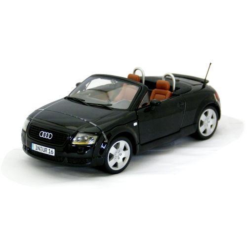 Audi TT Roadster 黒 1/18 Maisto 7315円 【アウディ ロードスター ブラック ダイキャストカー オープンカー マイスト ミニカー 】【コンビニ受取対応商品】