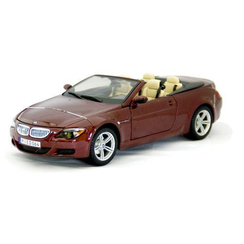 BMW M6 Cabriolet Wine Red 1/18 Maisto 6389円 ミニカー ダイキャストカー オープン カブリオレ マイスト 【コンビニ受取対応商品】