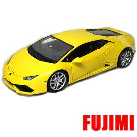 Lamborghini Huracan LP 610-4 yel 1/18 Maisto 【 ランボルギーニ ウラカン LP 610-4 ダイキャストカー ミニカー スーパーカー イエロー 黄色 】