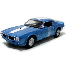 1972 Pontiac Firebird Trans Am blue 1/24 welly 3612円【ポンティアック ファイヤーバード トランザム アメ車 ブルー マッスルカー ミニカー 世田谷ベース 所ジョージ 】【コンビニ受取対応商品】