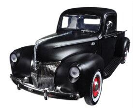1940 FORD PICK UP matte black 1/18 MOTOR MAX 【ダイキャストカー フォード ピックアップ 黒 マットブラック モーターマックス アメ車 トラック ミニカー 】