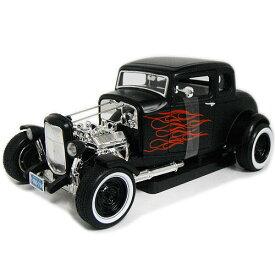 1932 FORD HOT ROD frame 1/18 MOTOR MAX American Classics 【 フォード ホットロッド クーペ モーターマックス アメリカ ダイキャストカー ミニカー クラシック HOTROD カスタム ファイヤー フレイム 】