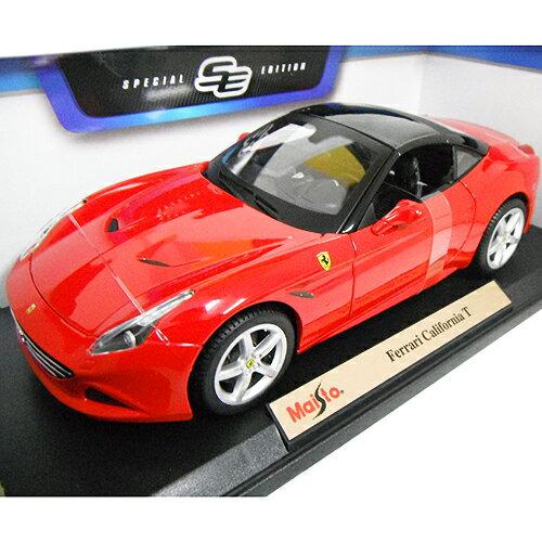 Ferrari California T ct red 1/18 Maisto 3087円【 フェラーリ カリフォルニア 赤 マイスト イタリア車 ミニカー ダイキャストカー スーパーカー ルーフクローズ 屋根あり 】【151006】【コンビニ受取対応商品】