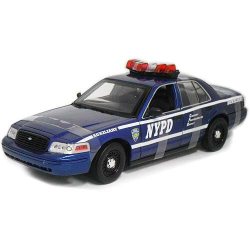 Ford Crown Victoria NYPD Auxiliary POLICE DEPT 1/18 GreenLight 9167円【ニューヨーク アメリカン ポリス パトカー ミニカー 警察 フォード クラウン ビクトリア ダイキャストカー】【151127】【コンビニ受取対応商品】