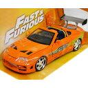 FAST and FURIOUS BRIAN'S TOYOTA SUPRA Orange 1/24 Jada 3087円【ワイルドスピード ブライアン トヨタ ...