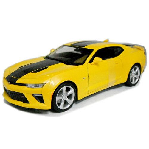 2016 Chevrolet CAMARO SS Yellow 1/18 Maisto 2500円 【シボレー カマロ 黄色 イエロー マイスト ミニカー ダイキャストカー CHEVY シェビー アメ車 】【160217】【コンビニ受取対応商品】