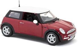 Mini Cooper 1/18 red MAISTO 【 ダイキャストカー ミニクーパー ミニカー マイスト イギリス 赤 レッド 英国車 エンスー BMW 】【150911】