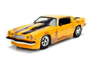 1977 Chevrolet Camaro Concept Bumblebee Transformers 1/24 JADA 4167円 【 トランスフォーマー TF5 バンブルビー シボレー カマロ ミニカー ジャダ ダイキャストカー 映画 ビデオ 主人公 ヒーロー おもちゃ 】【