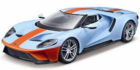 FORD GT 2017 GULF Oil 1/18 MAISTO 【 フォード ガルフ スーパーカー ミニカー マイスト ダイキャストカー オイル 】