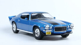 1971 Chevrolet Camaro Blue 1/18 Maisto 【 ミニカー シボレー カマロ マイスト ダイキャストカー アメ車 マッスルカー 】