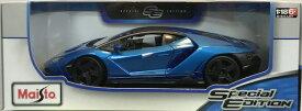 Lamborghini CENTENARIO Blue 1/18 Maisto 【 ランボルギーニ センテナリオ 青 ダイキャストカー マイスト ミニカー スーパーカー 】