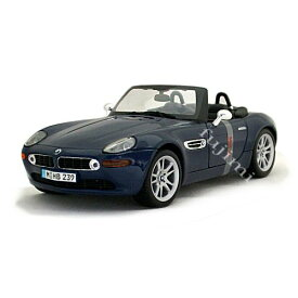 BMW Z8 blu 1/18 Maisto 2455円 【 ダイキャストカー ビーエム 青 ミニカー マイスト スーパーカー 】【コンビニ受取対応商品】