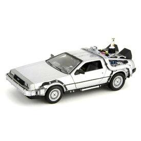 Delorean Back To The Future II 1:24 Welly 3612円 【バック・トゥ・ザ・フューチャー デロリアン ウィリー DMC-12 】【コンビニ受取対応商品】
