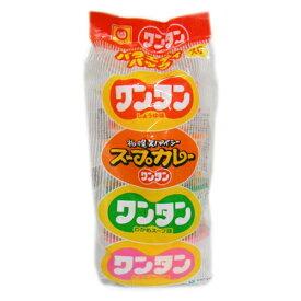 マルちゃん ミニワンタンバラエティ 4食パック 360円【 ワンタンスープ ミニ 】