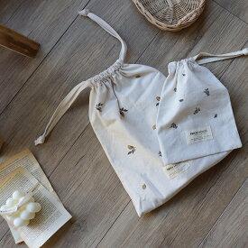 new cotton pouch(vintage lemon & vintage blueberry)2枚set トリックホリック TRICK HOLIC