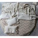 new vintage lace flower rug ヴィンテージレースフラワーラグ(カバー+中綿)分離型