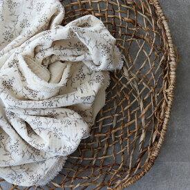 5重ガーゼvintage flower blanket L-size 約140×85cm ヴィンテージブランケット TRICK HOLIC トリックホリック
