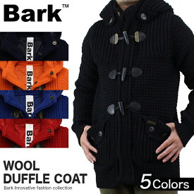 バーク Bark ウール ダッフルコート ニットダッフル ショート 72B8005 メンズ