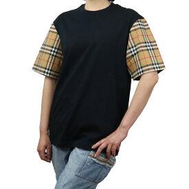 バーバリー BURBERRY レディース−Tシャツ 8014895 A1189 BLACK ブラック bos-03 apparel-01 レディース ts-01