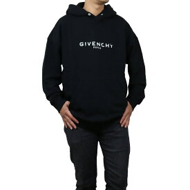 ジバンシー GIVENCHY ロゴパーカー フーディ プルオーバー 長袖 BM700R 30AF 001 BLACK ブラック メンズ men's bos-05 apparel-01