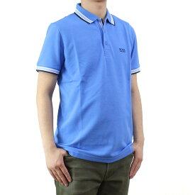 ヒューゴ・ボス HUGO BOSS PADDY パディ メンズ ポロシャツ 50302557 10102943 423 ブルー系 メンズ 半袖 ゴルフウェア