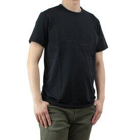 ヒューゴ・ボス HUGO BOSS TEE 9 メンズ クルーネック Tシャツ 50329641 10175216 001 ブラック メンズ ティーシャツ 半袖