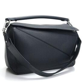 ロエベ LOEWE ハンドバッグ LOEWE PUZZLE BAG パズル 322.12.S19 1100 BLACK ブラック bos-35 bag-01 メンズ