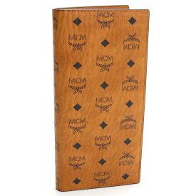 エムシーエム MCM VISETOS ORIGINAL ヴィセトス 2つ折り長財布 MXLAAVI02 CO001 ブラウン系 メンズ ブランド財布 サイフ ウォレット ブランド さいふ 財布