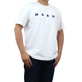 マルニ MARNI メンズ−Tシャツ HUMU0143P0 S22763 00W01 ホワイト系 bos-22 apparel-01 メンズ ts-01