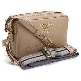 【21AW新作】プラダ PRADA 斜め掛け ショルダーバッグ ブランドロゴ ブランドバッグ 1BH082 2BBE V NOM F0770 CAMMEO ベージュ系 bag-01