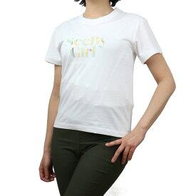 シーバイクロエ SEE BY CHLOE レディース−Tシャツ CHS21SJH47113 109 ホワイト系 bos-27 apparel-01 レディース 2021SS