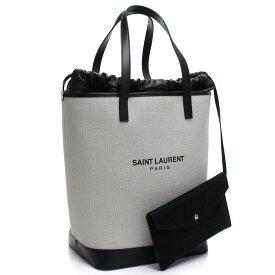 サンローラン SAINT LAURENT TEDDY テディ トートバッグ 551595 9J56E 9273 ホワイト系 レディース【キャッシュレス 5% 還元】