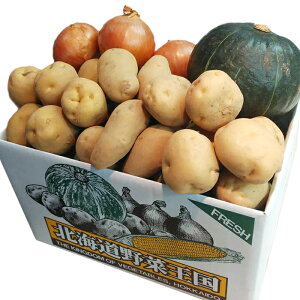 農産セットE玉葱×2kg・北あかり×2kg・メークイン×2kg・男爵×2kg・カボチャ×1個