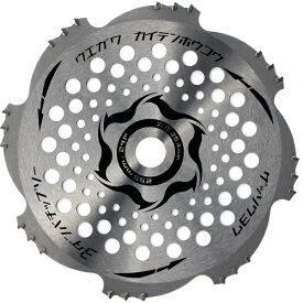 今、話題の品 今、話題の品 刈払機 草刈 255mm X 24P 1枚 替刃 刃 チップソー 草刈り刃 草刈機 3段刃 トリガー