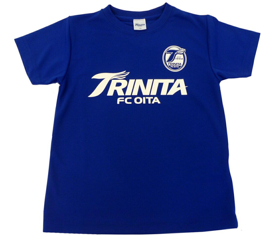 大分トリニータTシャツ(ロゴ・エンブ)青大人サイズ