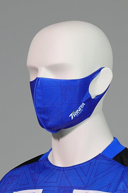 大分トリニータ快適素材の洗えるマスク(ユニ柄)着用2