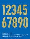 大分トリニータ2018レプリカユニフォーム用(ホーム)番号2桁