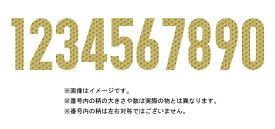 大分トリニータ2020レプリカユニフォーム用(ホーム)胸・背番号1桁