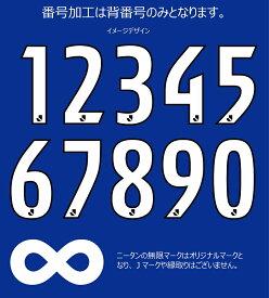 大分トリニータ【1次】2021レプリカユニフォーム用(ホーム)背番号2桁