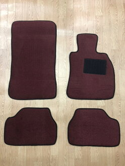 New floor mat black / gray / beige / red / wine black / ash / plain fabric parts (domestic) car dirt prevention interior seat cover point up to 18 times for exclusive use of the car mat BMW E87 1 series BMW E87 right-hand drive!