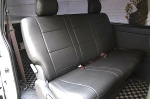 200系ハイエースS-GLパンチングレザーシートカバー