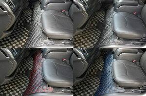 200系ハイエースS-GLダイヤカットデザインシートカバー