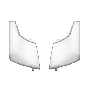 三菱ふそうジェネレーションキャンター標準ボディ用メッキフロント5点セット(メッキフロントバンパ−メッキグリルメッキコーナーパネルメッキワイパーパネル)