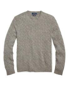 ラルフローレン メンズ Polo Ralph Lauren Cable-Knit Cashmere Sweater 長袖 カシミア セーター FAWN GREY HEATHER