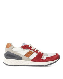 ラルフローレン メンズ シューズ POLO Ralph Lauren Train 100 Suede-Mesh Sneaker スニーカー STAMFORD RED